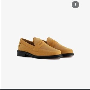 Aime Leon Dore Suede Penny Loafers